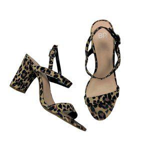 BP. Strappy Cheetah Heels